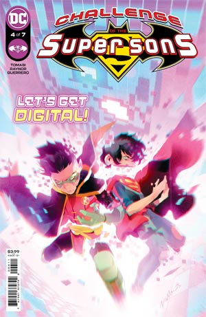 Challenge Of The Super Sons #4 Cover A Regular Simone Di Meo Cover