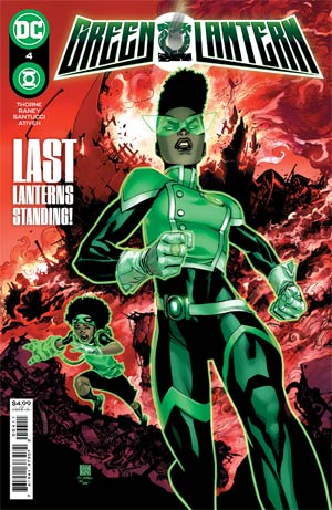 Green Lantern Vol 7 #4 Cover A Regular Bernard Chang Cover
