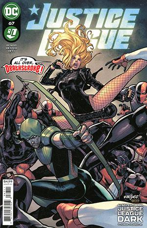 Justice League Vol 4 #67 Cover A Regular David Marquez Cover