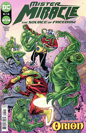 Mister Miracle The Source Of Freedom #5 Cover A Regular Yanick Paquette Cover
