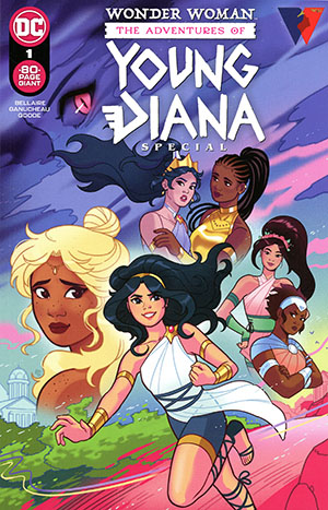 Wonder Woman The Adventures Of Young Diana Special #1