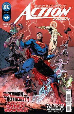 Action Comics Vol 2 #1036 Cover A Regular Daniel Sampere Cover