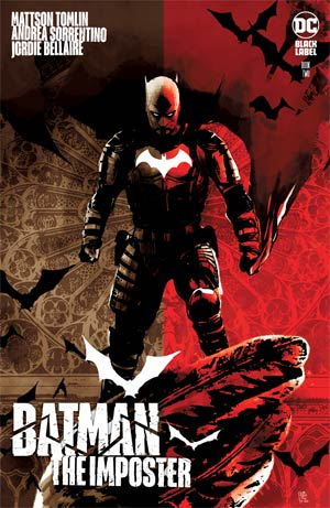 Batman The Imposter #2 Cover A Regular Andrea Sorrentino Cover