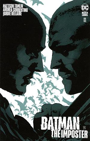 Batman The Imposter #3 Cover A Regular Andrea Sorrentino Cover