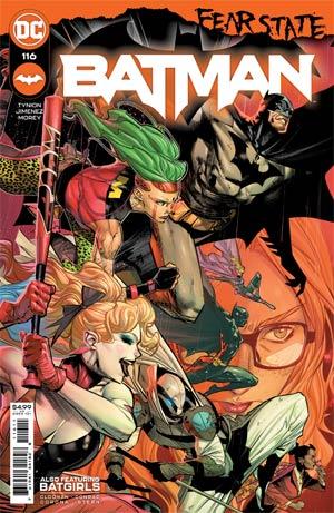 Batman Vol 3 #116 Cover A Regular Jorge Jimenez Cover (Fear State Tie-In)