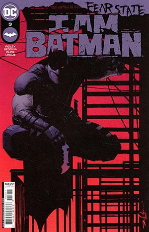 I Am Batman #3 Cover A Regular Gerardo Zaffino Cover (Fear State Tie-In)