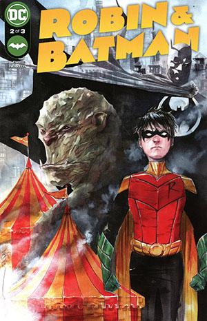 Robin & Batman #2 Cover A Regular Dustin Nguyen Cover
