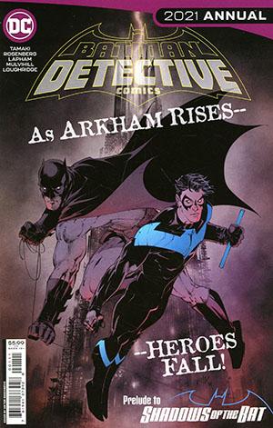 Detective Comics Vol 2 2021 Annual #1 (One Shot) Cover A Regular Viktor Bogdanovic Cover