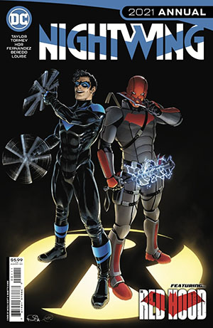 Nightwing Vol 4 2021 Annual #1 (One Shot) Cover A Regular Nicola Scott Cover