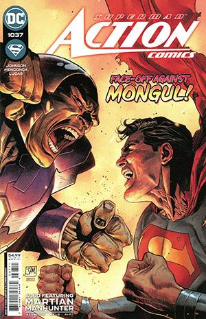 Action Comics Vol 2 #1037 Cover A Regular Daniel Sampere Cover