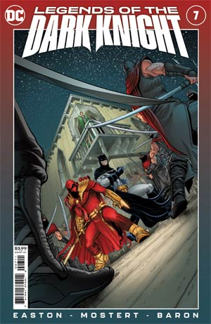 Legends Of The Dark Knight Vol 2 #7 Cover A Regular Karl Mostert Cover