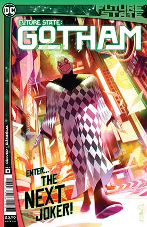 Future State Gotham #8 Cover A Regular Simone Di Meo Cover
