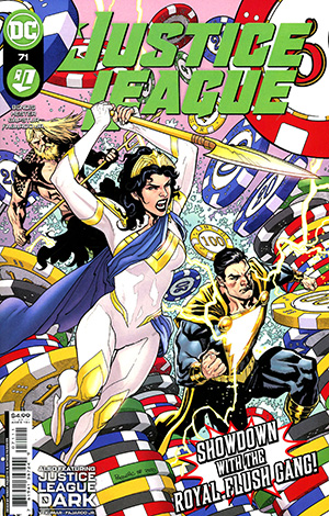Justice League Vol 4 #71 Cover A Regular Yanick Paquette & Nathan Fairbairn Cover