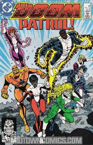 Doom Patrol Vol 2 #8