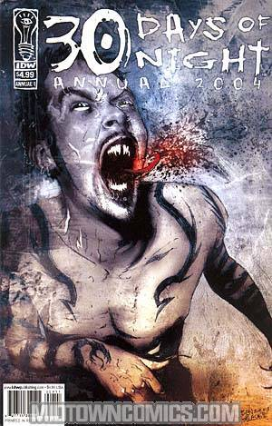 30 Days Of Night Annual 2004 Cover A Regular Edition