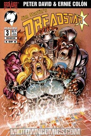 Dreadstar Vol 2 #3