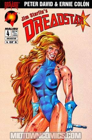 Dreadstar Vol 2 #4