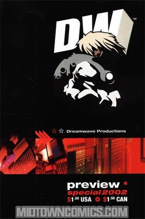 Dreamwave Fall 2002 Preview Book