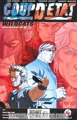 Coup Detat #3 Wildcats Version 3.0 Garza Cvr