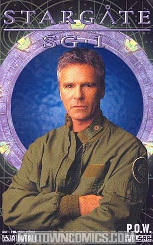 Stargate SG-1 POW #1 Photo Cvr