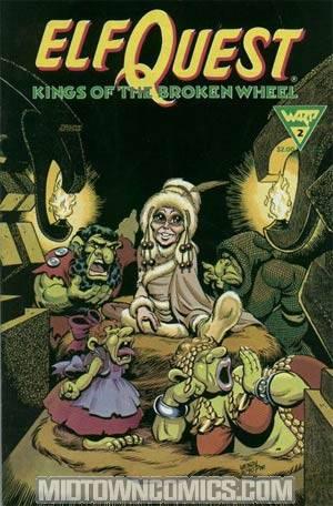 Elfquest Kings Of The Broken Wheel #2