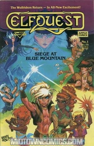 Elfquest Siege At Blue Mountain #1