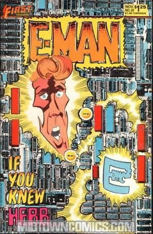 E-Man Comics #20