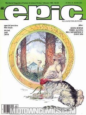 Epic Illustrated Magazine #28