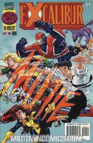 Excalibur #102 Cover A With Cards