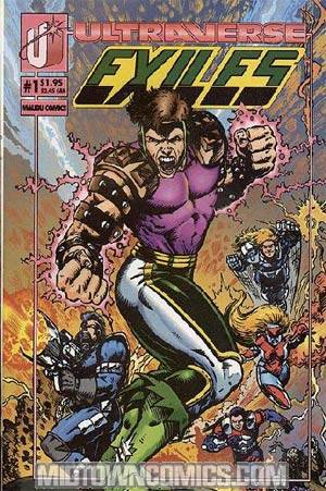 Exiles #1 Cover A Regular Cover