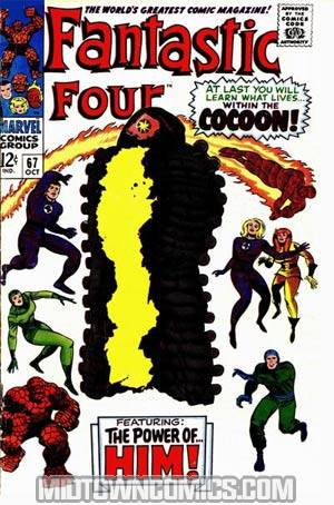 Fantastic Four #67 2nd printing