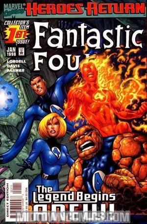 Fantastic Four Vol 3 #1 Cover A Regular Cover