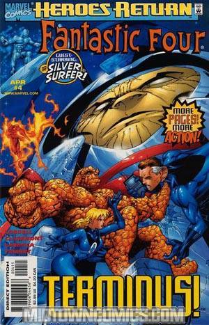 Fantastic Four Vol 3 #4