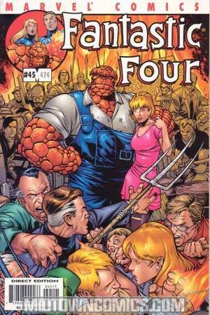 Fantastic Four Vol 3 #45