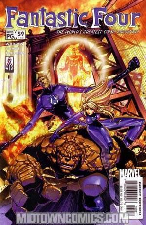 Fantastic Four Vol 3 #59