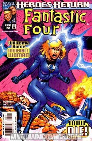 Fantastic Four Vol 3 #2 Cover A