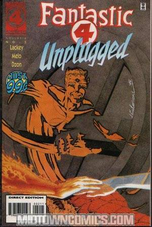 Fantastic Four Unplugged #2