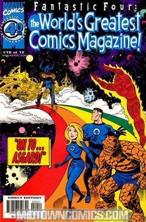 Fantastic Four Worlds Greatest Comics Magazine #10
