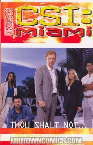 CSI Miami Thou Shalt Not