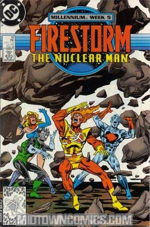 Firestorm The Nuclear Man #68