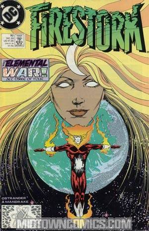 Firestorm The Nuclear Man #92
