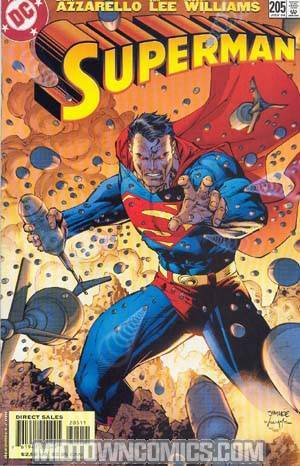 Superman Vol 2 #205 Lee Cvr