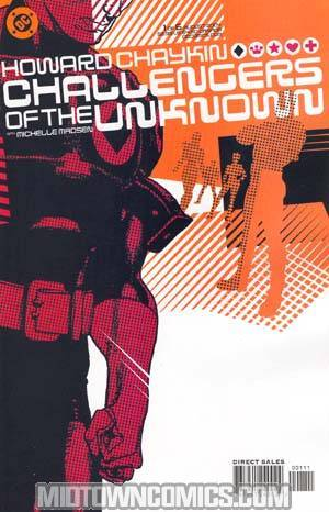 Challengers Of The Unknown Vol 4 #1