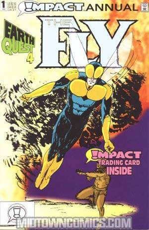 Fly Annual #1 Cover A With Card