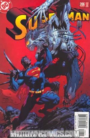 Superman Vol 2 #206