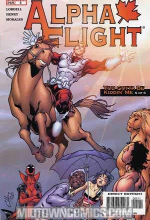 Alpha Flight Vol 3 #5