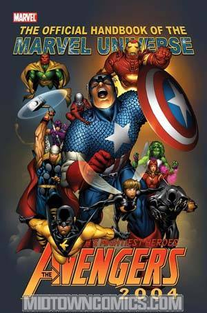 Official Handbook Of The Marvel Universe Avengers 2004
