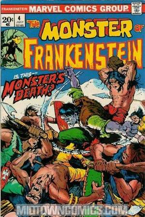 Monster Of Frankenstein #4