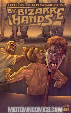 Joe Lansdales By Bizarre Hands #3 Wrap Cvr