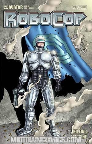 Robocop Killing Machine Special #1 Cover C Burrows